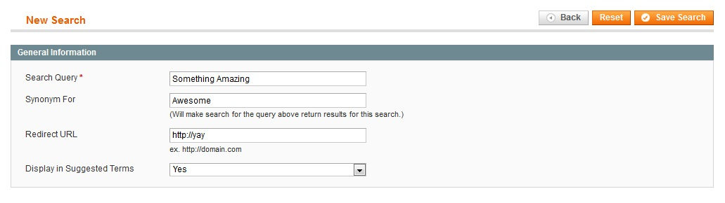 Utilizing Magento's Search Terms   coolblueweb