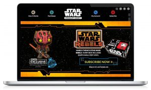 Funko Star Wars Homepage