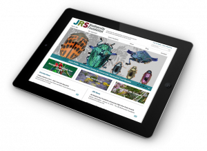 JRS Homepage Tablet View