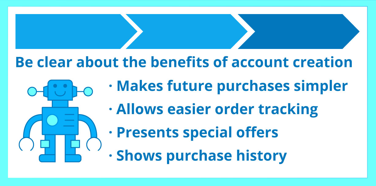 Account Creation Benefits