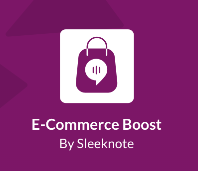 E-Commerce Boost podcast by sleeknote
