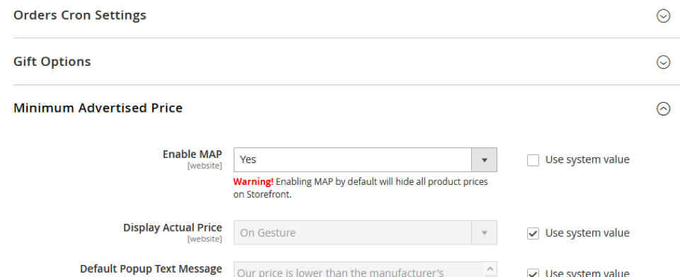 Minimum Advertised Price Magento Features Coolblueweb - Map minimum advertised price
